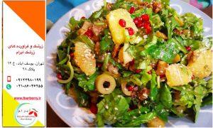 لیست غذاهای ایرانی با زرشک